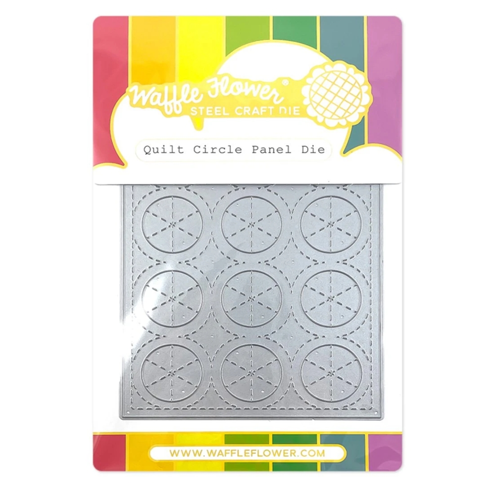 Waffle Flower QUILT CIRCLE Panel Die 420718 zoom image