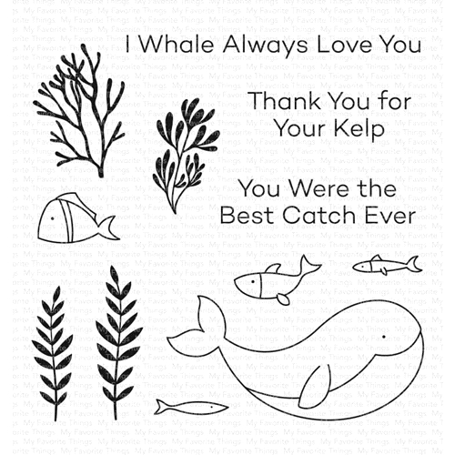 My Favorite Things BEST CATCH EVER Clear Stamps cs575 Preview Image