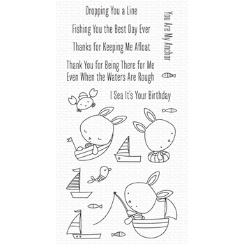My Favorite Things YOU KEEP ME AFLOAT Clear Stamps cs576