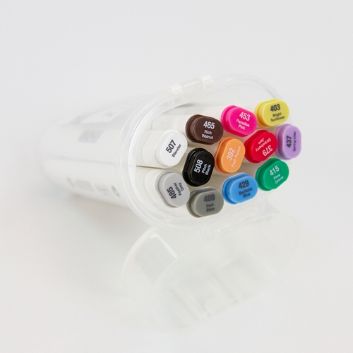 Tonic PRINCIPLE COLLECTION Alcohol Markers 12 Set Nuvo 344n ** Preview Image