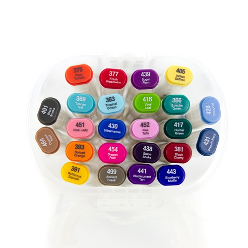Tonic BRIGHT AND DARK COLLECTION Alcohol Markers 24 Set Nuvo 352n ** Preview Image