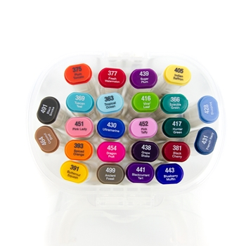 Tonic BRIGHT AND DARK COLLECTION Alcohol Markers 24 Set Nuvo 352n