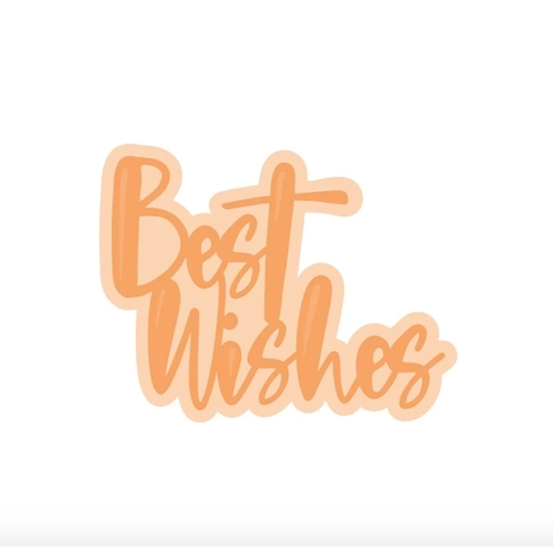 Tonic BEST WISHES SENTIMENT Die Set 4519e Preview Image