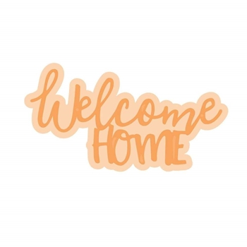 Tonic WELCOME HOME SENTIMENT Die Set 4523e