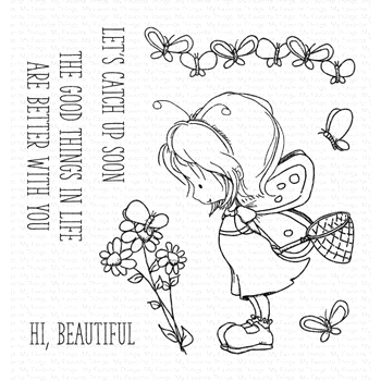 My Favorite Things FLUTTERBY FRIENDS Clear Stamps ti003