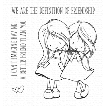 My Favorite Things DEFINITION OF FRIENDSHIP Clear Stamps ti001