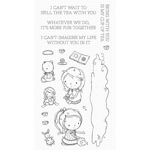 My Favorite Things SPILL THE TEA Clear Stamps ram015 Preview Image