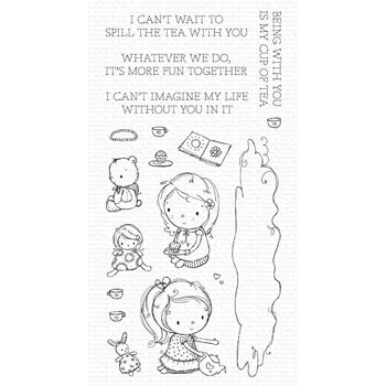 My Favorite Things SPILL THE TEA Clear Stamps ram015