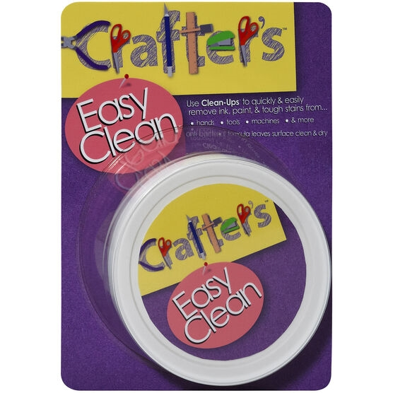 Crafter's Essentials EASY CLEAN Pre-Moistened Hand Cleaning Pads 10139 zoom image