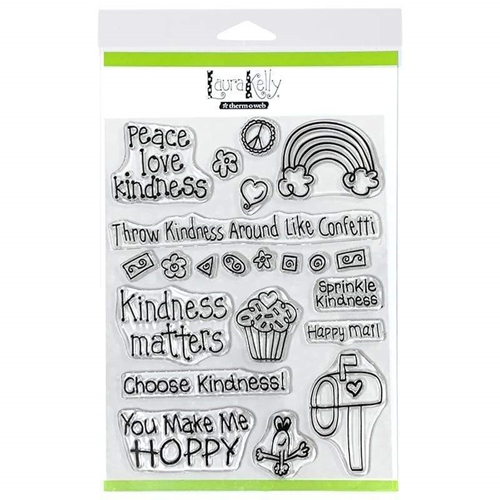 Therm O Web Laura Kelly KINDNESS ON PURPOSE Clear Stamps 18177 Preview Image