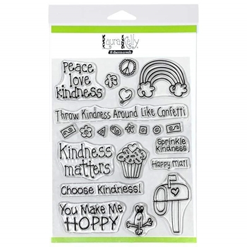 Therm O Web Laura Kelly KINDNESS ON PURPOSE Clear Stamps 18177