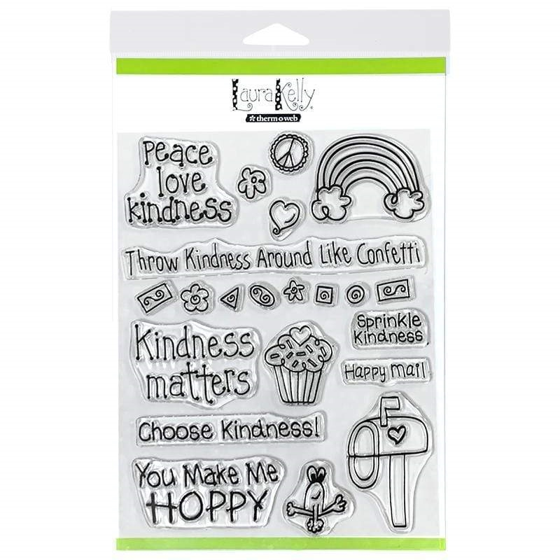 Therm O Web Laura Kelly KINDNESS ON PURPOSE Clear Stamps 18177 zoom image