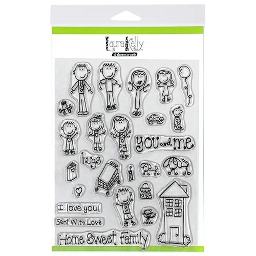 Therm O Web Laura Kelly ME AND MY PEEPS Clear Stamps 18178 Preview Image