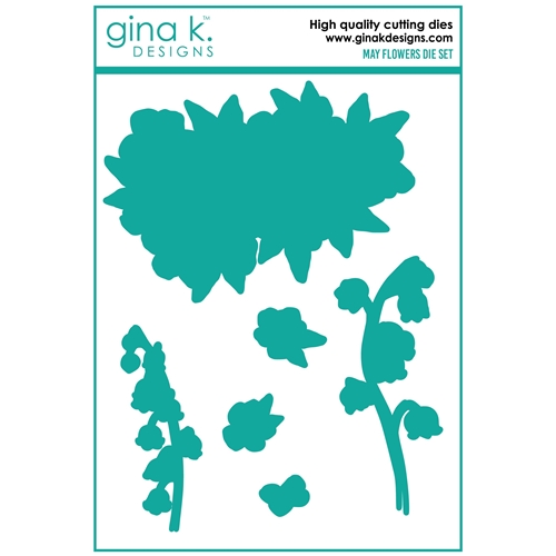 Gina K Designs MAY FLOWERS Coordinating Dies 0157 ** Preview Image