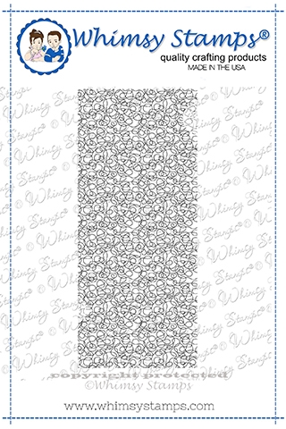 Whimsy Stamps SCRIBBLES BACKGROUND Cling Stamp DDB0059 Preview Image