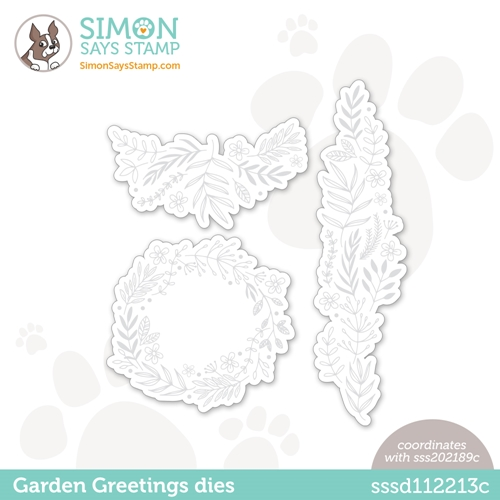 Simon Says Stamp GARDEN GREETINGS Wafer Dies sssd112213c Preview Image