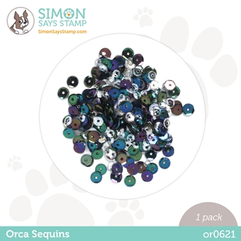 Simon Says Stamp Sequins ORCA or0621