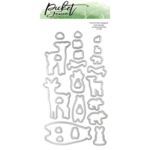 Picket Fence Studios FOREST CRITTERS STOPPING BY TO SAY HEY Dies a152d Preview Image