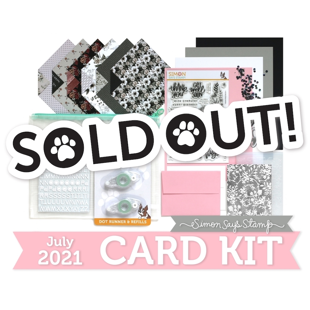 Simon Says Stamp Card Kit of the Month July 2021 GARDEN GREETINGS ck0721 zoom image