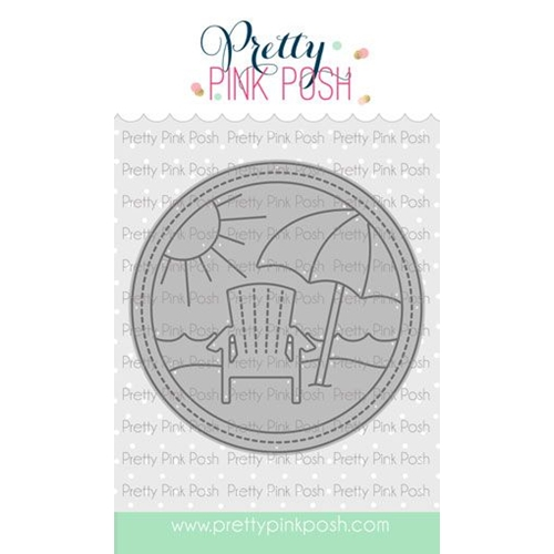 Pretty Pink Posh VACATION SCENE Dies Preview Image