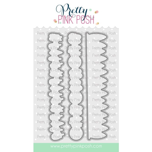 Pretty Pink Posh SUMMER BORDERS Dies  Preview Image