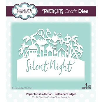 Creative Expressions BETHLEHEM Paper Cuts Edger Die cedpc1171
