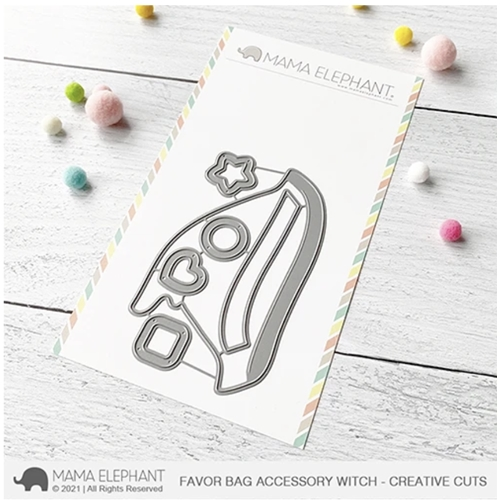 Mama Elephant FAVOR BAG ACCESSORY WITCH Creative Cuts Steel Dies Preview Image