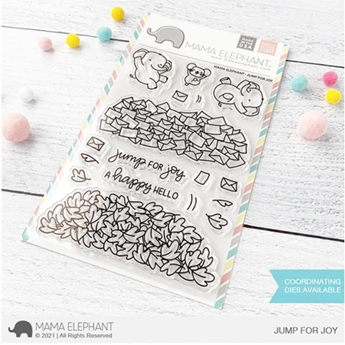 Mama Elephant Clear Stamps JUMP FOR JOY Preview Image