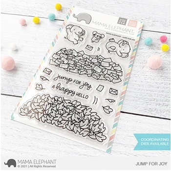 Mama Elephant Clear Stamps JUMP FOR JOY