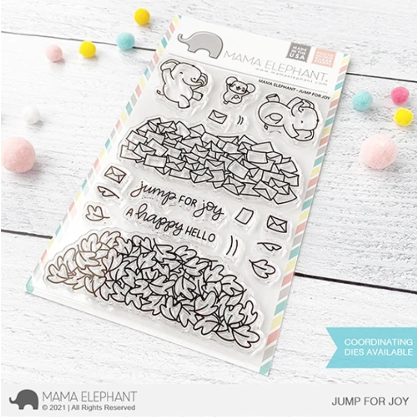 Mama Elephant Clear Stamps JUMP FOR JOY zoom image