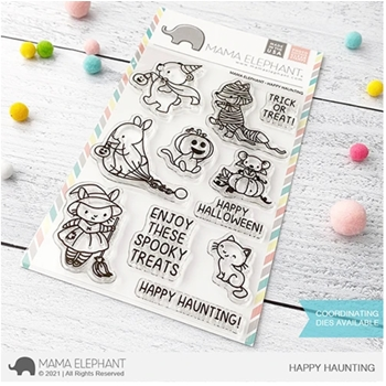 Mama Elephant Clear Stamps HAPPY HAUNTING