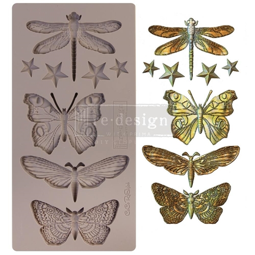 Prima Marketing INSECTA AND STARS ReDesign Decor Mould 652432 Preview Image
