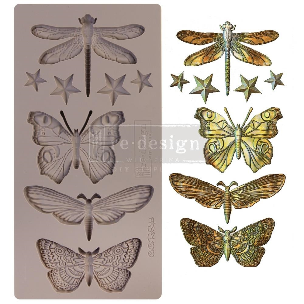 Prima Marketing INSECTA AND STARS ReDesign Decor Mould 652432 zoom image