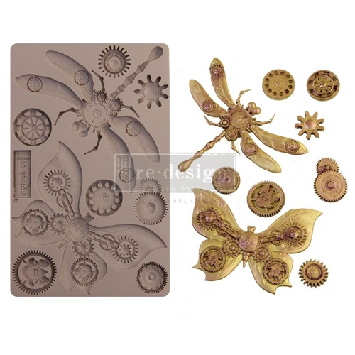 Prima Marketing MECHANICAL INSECTICA ReDesign Decor Mould 652142 Preview Image
