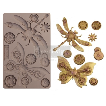 Prima Marketing MECHANICAL INSECTICA ReDesign Decor Mould 652142