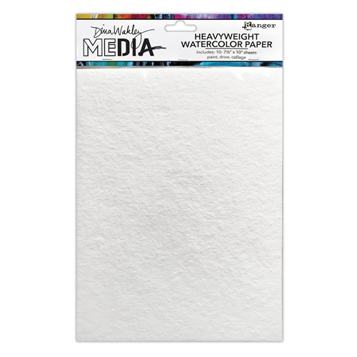 Dina Wakley HEAVYWEIGHT WATERCOLOR PAPER Ranger mdj76629 Preview Image