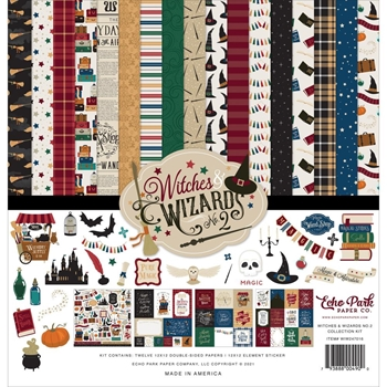 Echo Park WITCHES AND WIZARDS 2 12 x 12 Collection Kit wiw247016