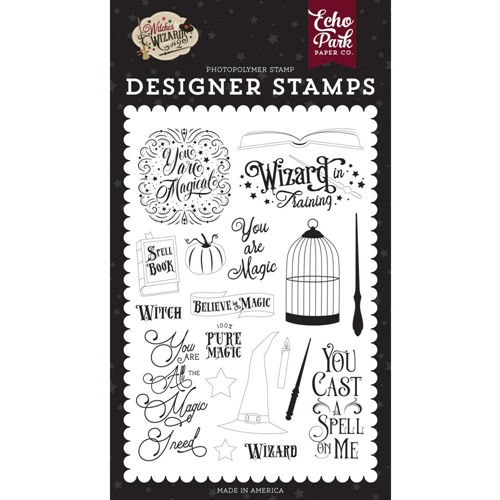 Echo Park YOU ARE MAGIC Clear Stamps wiw247044 Preview Image