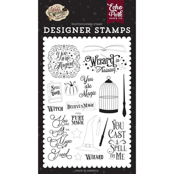 Echo Park YOU ARE MAGIC Clear Stamps wiw247044
