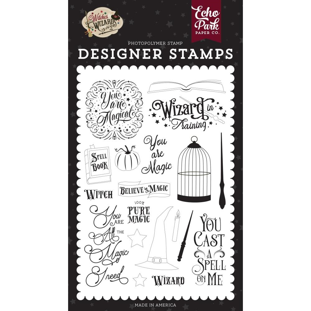 Echo Park YOU ARE MAGIC Clear Stamps wiw247044 zoom image