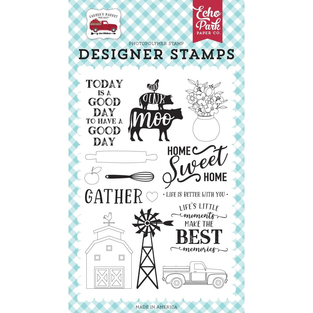 Echo Park HOME SWEET HOME Clear Stamps fm248040 zoom image