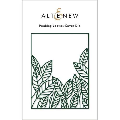 Altenew PEEKING LEAVES Cover Die ALT6220 Preview Image