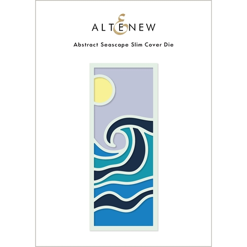 Altenew ABSTRACT SEASCAPE SLIM Cover Die ALT6217 Preview Image