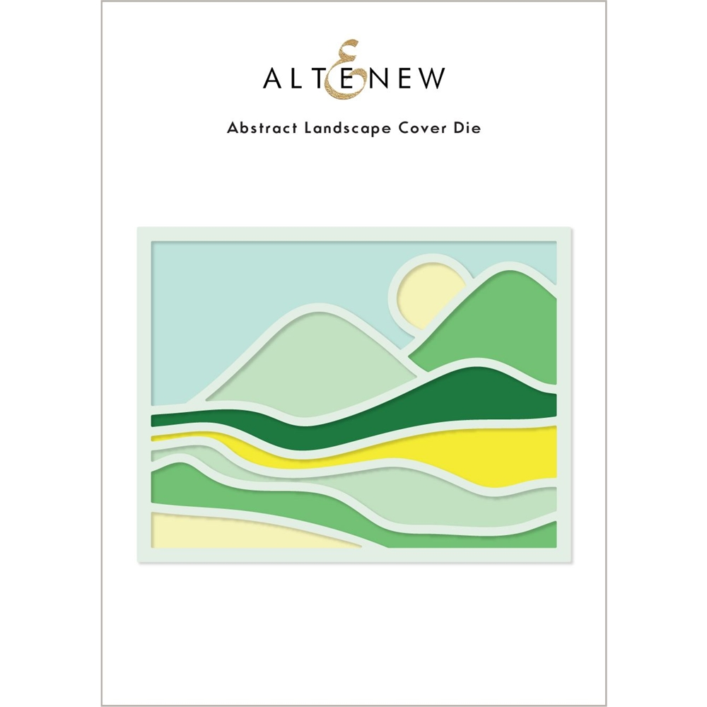 Altenew ABSTRACT LANDSCAPE Cover Die ALT6216 zoom image
