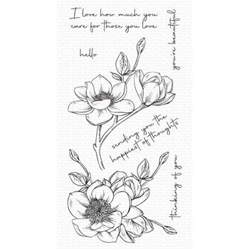 My Favorite Things MAGNOLIA BLOSSOMS Clear Stamps cs573
