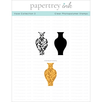 Papertrey Ink VASE COLLECTION 2 Clear Stamps 1298