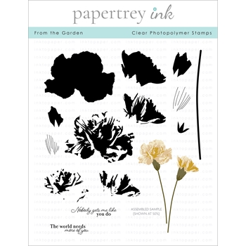 Papertrey Ink FROM THE GARDEN Clear Stamps 1295