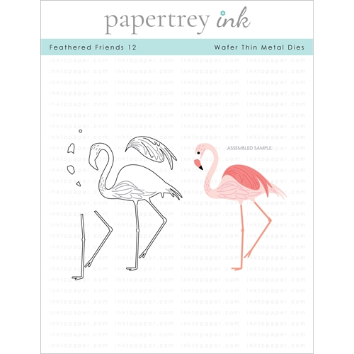Papertrey Ink FEATHERED FRIENDS 12 Dies ITP294 Preview Image
