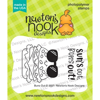 Newton's Nook Designs BUNS OUT Clear Stamps NN2106S06