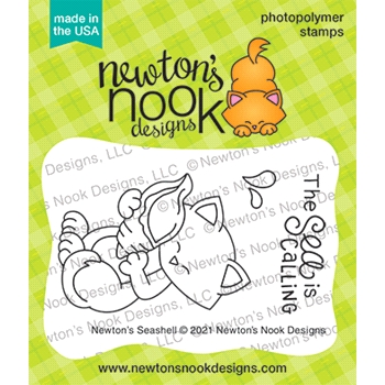 Newton's Nook Designs NEWTON'S SEASHELL Clear Stamps NN2106S05